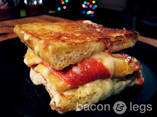 Lobster Ravioli Grilled Cheese