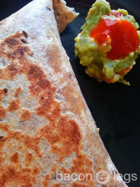Hangover Cure in Burrito Form
