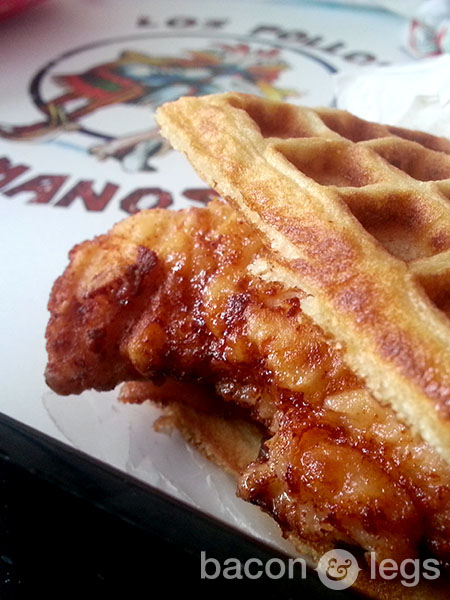 All-Day Breakfast Chicken and Waffle Sandwich