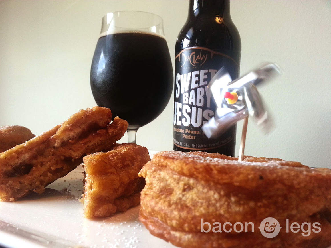 Beer Battered PB & J