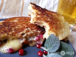 Butternut Pom Grilled Cheese