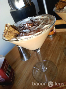 Chocolate Pumpkin Pie Martini