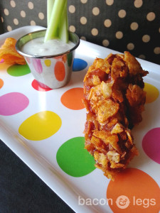 Cola-Drenched BBQ Chip-Covered Wings