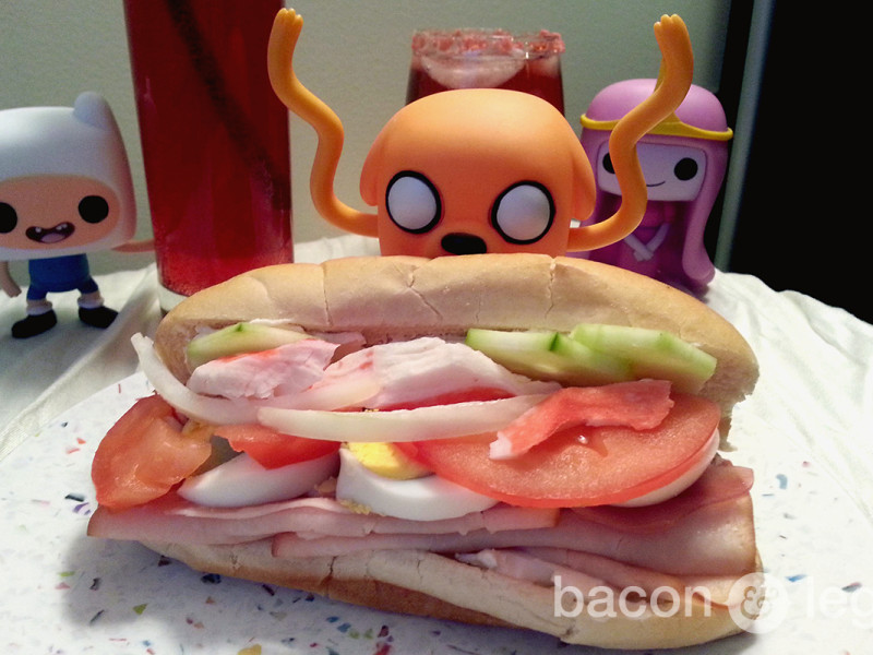 Jake's [Adventure] Time Sandwich