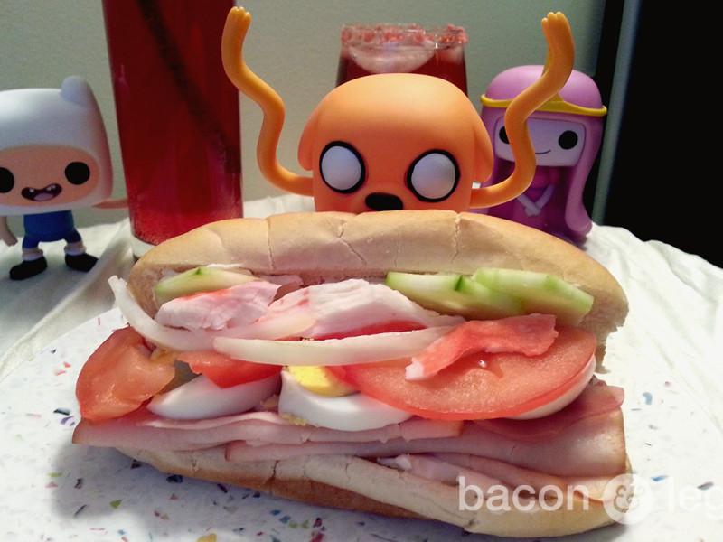Jake's [Adventure] Time Sandwich