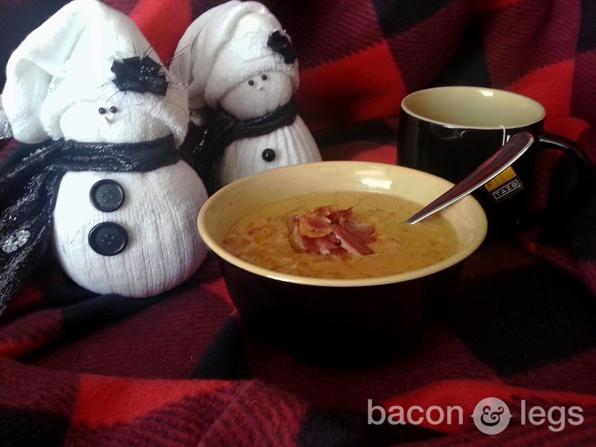 Warm Up Your Shit (Honey Chicken Corn Chowder)