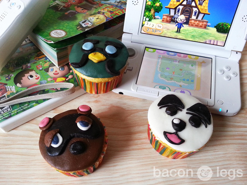 Animal Crossing Cupcakes