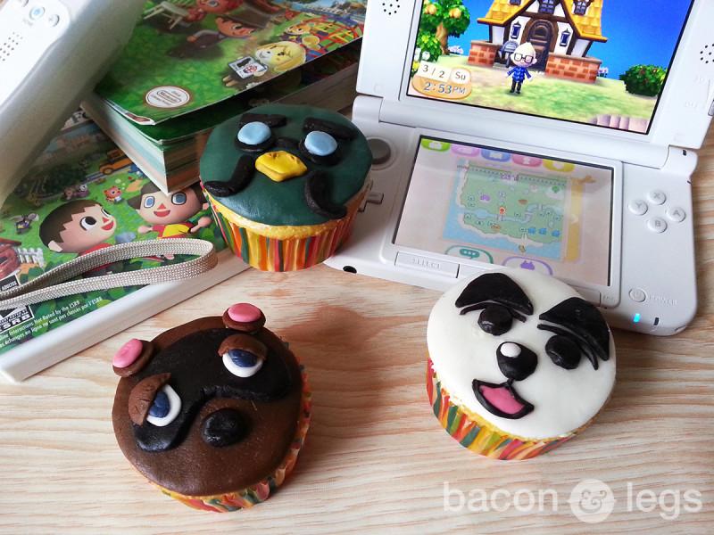 Animal Crossing Cupcakes