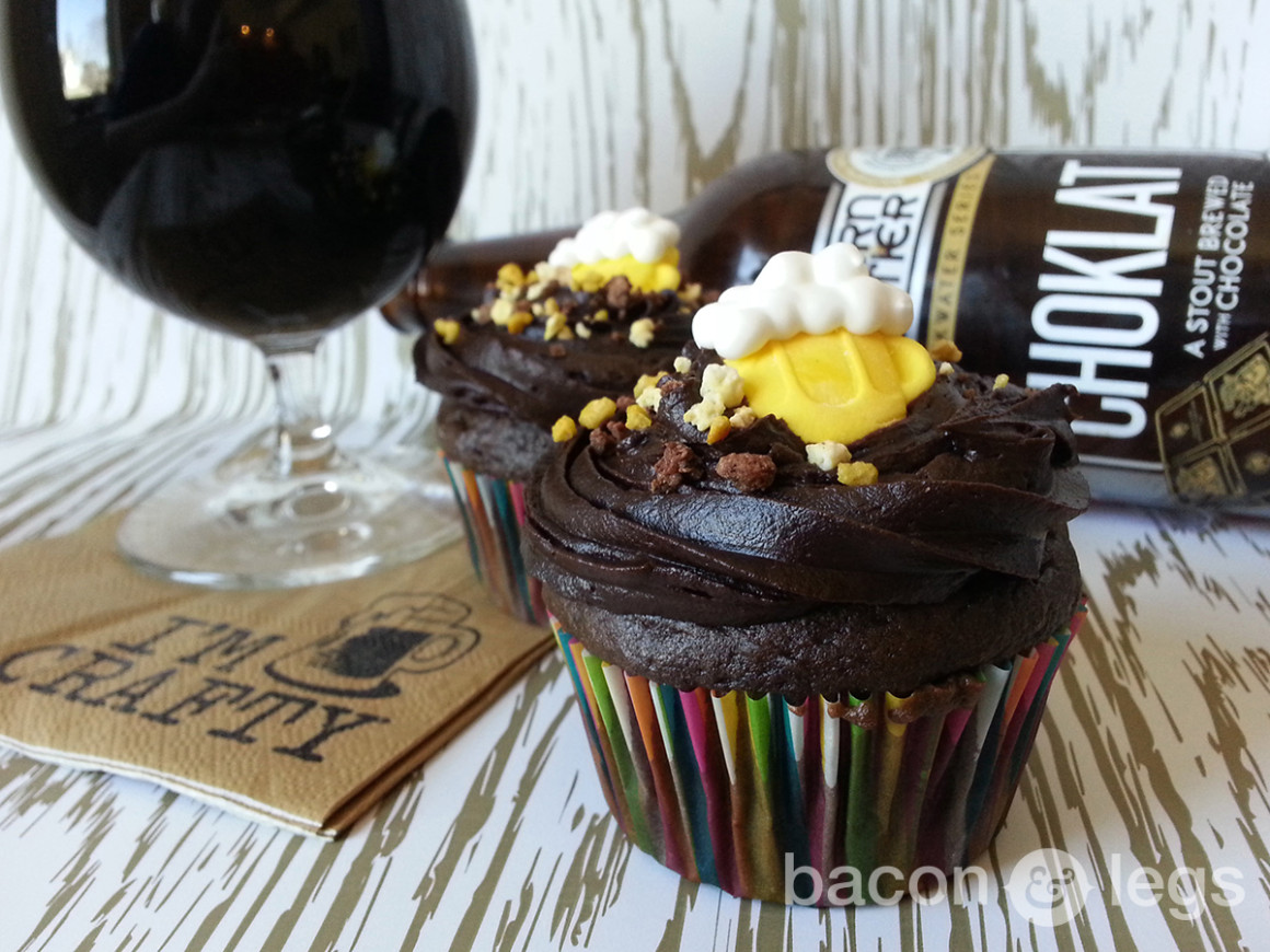 Easy Chocolate Stout Cupcakes