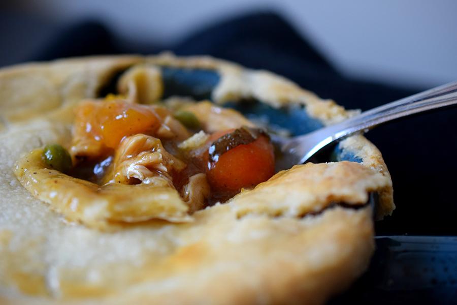 Bacon & Butternut Pot Pie