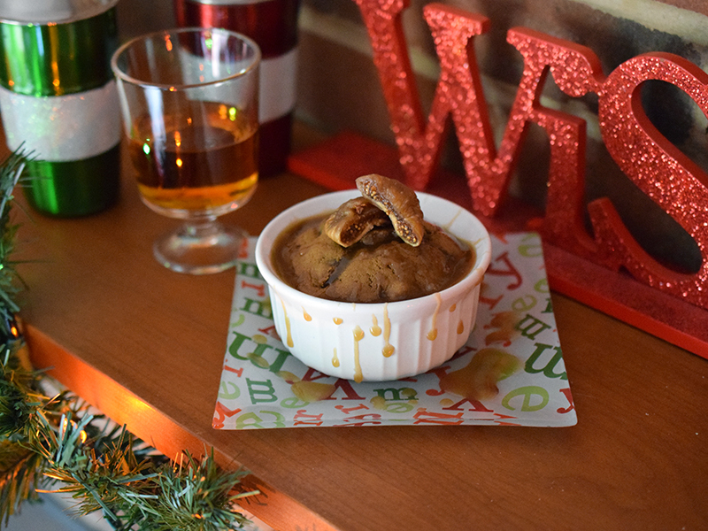 Boozy Figgy Pudding
