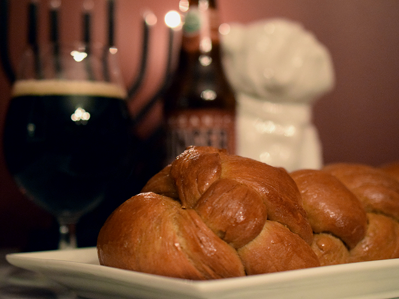 Gingerbread Challah