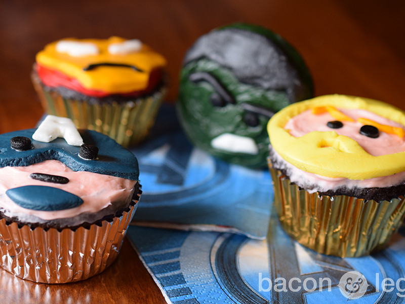Avengers Cupcakes