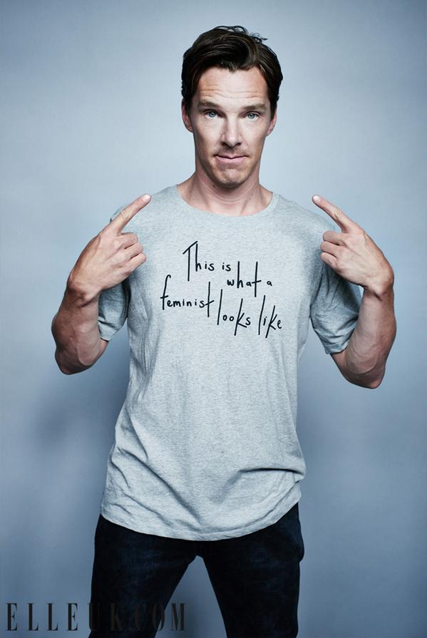 """Benedict """"Feminist"""" Cumberbatch"""