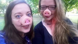 Hotter than Miss Piggy