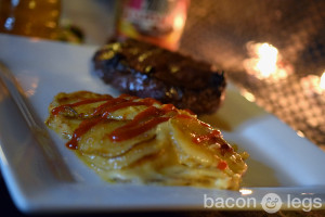 Buffalo Blue Scalloped Potatoes with Session Ale